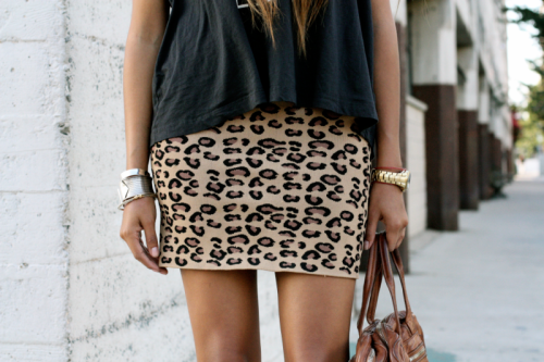 sincerely jules fashion leopard print